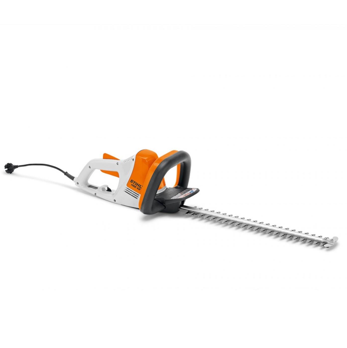 stihl hse 42 electric hedge trimmer australian mower supply. Black Bedroom Furniture Sets. Home Design Ideas